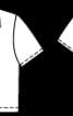 Блузка сорочкового крою з короткими рукавами - фото 3