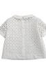 Блузка із наскрізною застібкою на спинці - фото 4