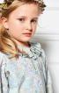 Блузка прямого крою з відкладним комірцем - фото 4