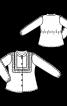 Блузка батистова з оборками - фото 3