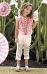 Блузка-балон з рукавами крильцями - фото 1
