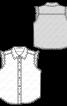 Блузка джинсова без рукавів - фото 3