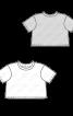 Пуловер короткий в стилі оверсайз - фото 3