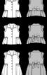 Блузка сорочкового крою з пишною баскою - фото 3