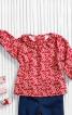 Блузка із застібкою на спинці - фото 1