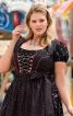 Блузка коротка в баварському стилі - фото 1