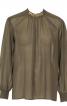 Блуза з боковою застібкою біля горловини - фото 2