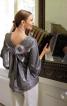 Блуза з розкльошеними рукавами - фото 1