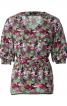 Блуза прямого крою з пишними рукавами - фото 2