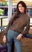 Блузка з приспущеними проймами - фото 1