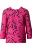 Блуза прямого крою з вирізом на спинці - фото 2
