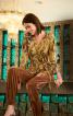 Пуловер прямого крою з поясом - фото 1