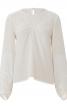 Блузка з поперечними складками - фото 2