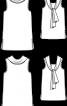 Топ із довгим коміром-шарфом - фото 3