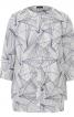 Блуза прямого крою з подвійними деталями - фото 2