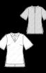 Блузка з коміром-чокером - фото 3
