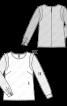 Блуза шовкова з мереживними вставками - фото 3