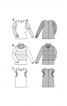 Блуза шовкова з мереживними вставками - фото 5
