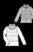 Блуза батистова прямого силуету - фото 3