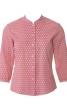 Блузка приталеного крою з рукавами 3/4 - фото 2
