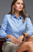 Блузка-сорочка з косими виточками - фото 1