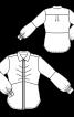 Блузка-сорочка з потайною застібкою - фото 3