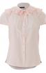 Блузка приталеного крою з пластроном - фото 2