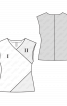 Блузка приталеного силуету без рукавів - фото 3