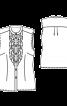 Блузка прилеглого силуету з коміром-стійкою - фото 3