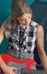 Блузка приталеного крою без рукавів - фото 1