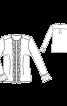 Блузка з потайною застібкою і оборками - фото 3