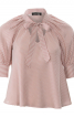 Блуза розкльошеного крою з рукавами реглан - фото 2