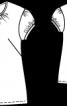 Блузка приталеного силуету - фото 3