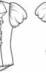 Блузка шовкова з пишними воланами - фото 3