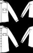 Блузка-сорочка батистова з коміром-стойкою - фото 3