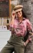 Блуза-сорочка в гавайському стилі - фото 1