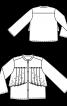 Блуза сорочкового крою з максі-оборками - фото 3