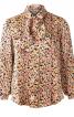 Блузка-сорочка зі знімним бантом - фото 2