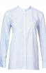 Блуза-сорочка з коміром-стойкою - фото 2