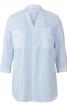 Блуза сорочкового крою з рукавами 3/4 - фото 2