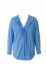 Блузка сорочкового крою з воланами - фото 2