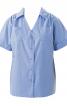 Блузка сорочкового крою з короткими рукавами - фото 2