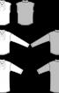 Пуловер без рукавів із суцільнокроєним коміром - фото 3