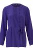 Блуза відрізна з асиметричною застібкою - фото 2