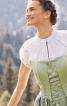 Блузка з суцільнокроєними рукавами - фото 1