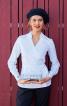 Блузка з запахом і V-подібним вирізом - фото 1