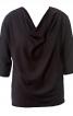 Блузка прямого крою з драпіровкою - фото 2
