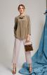 Блуза з асиметрією і драпіровками - фото 1