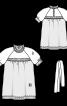 Блуза у вікторіанському стилі - фото 3
