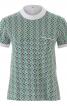 Блуза з наскрізною застібкою на спинці - фото 2